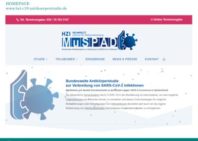 Homepage MusPAD HZI